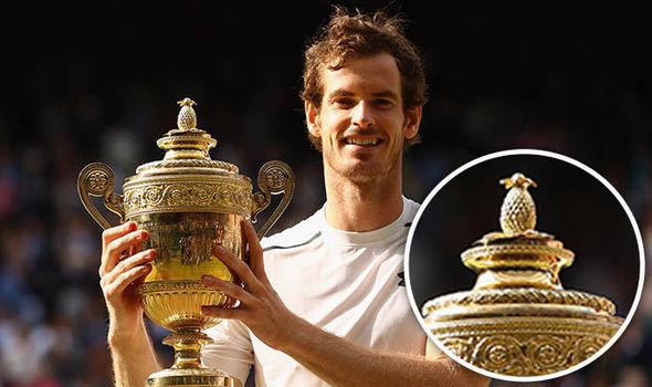 Perchè c'è un Ananas sul trofeo Wimbledon